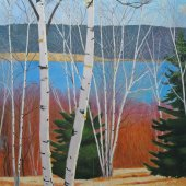 Friendship Birches I - Sold