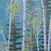 Summer Birches - $8000