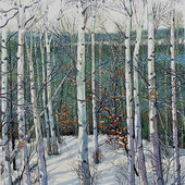 Winter Birches - $12,000.